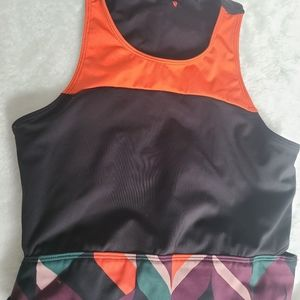 Simons Sports bra, with slitted back